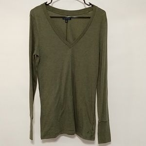 American Eagle outfitters XL green long sleeve 427